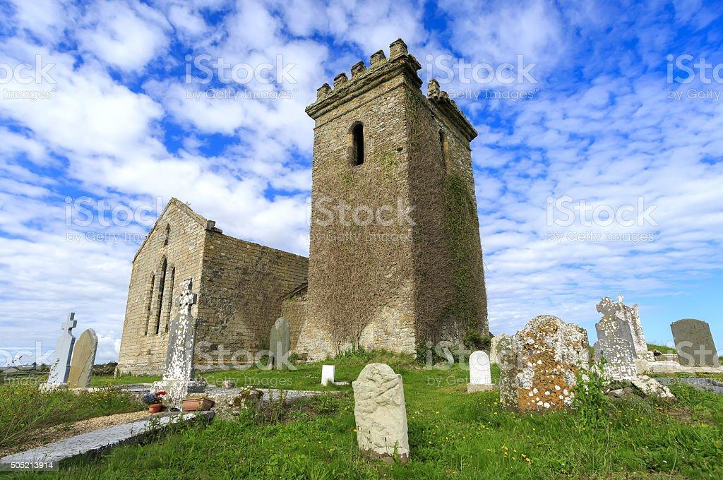 Templar Church, Templetown, County Wexford, Ireland. stock photo