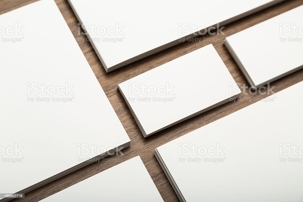 Template for branding identity stock photo