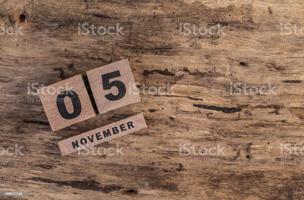 template for november stock photo