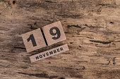 template for november