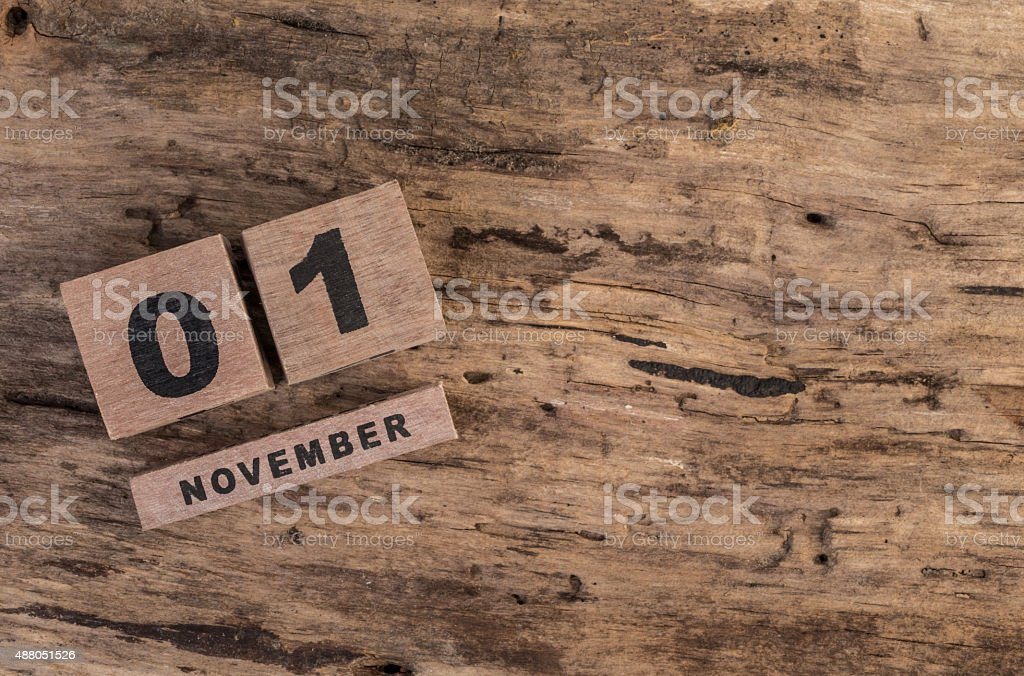 template for november stock photo