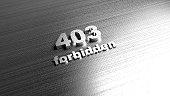 Template for website - Error 403 forbidden message