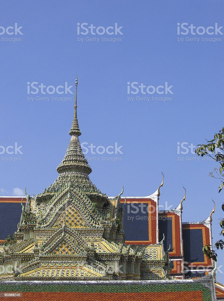 Temple Architecture royalty-free stock photo