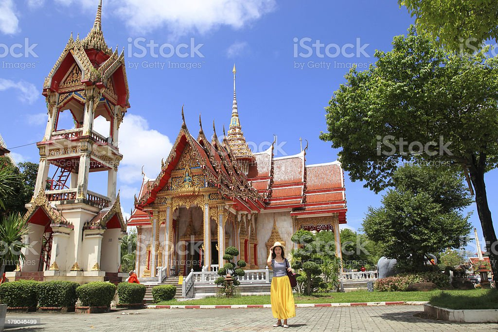 Temple Asian at Thailand 15 royalty-free stock photo