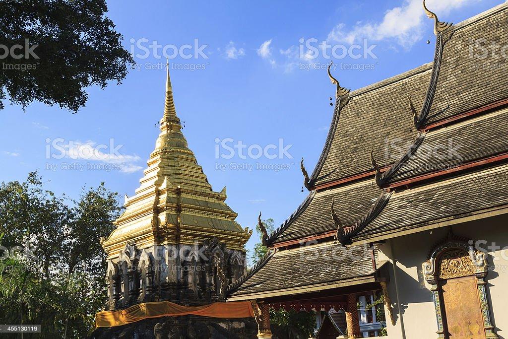 Temple at Chiang mai royalty-free stock photo