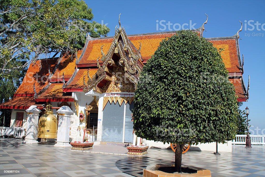 Temple de Doi Suthep, Chiang Mai, Thaïlande photo libre de droits