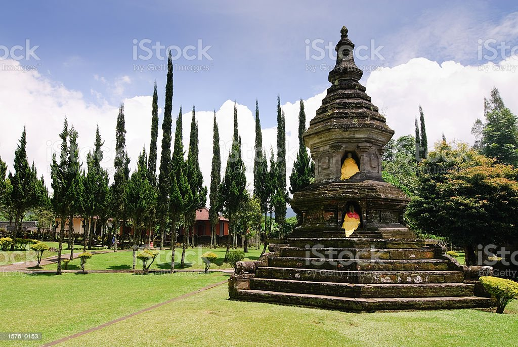 Temple Bali stock photo