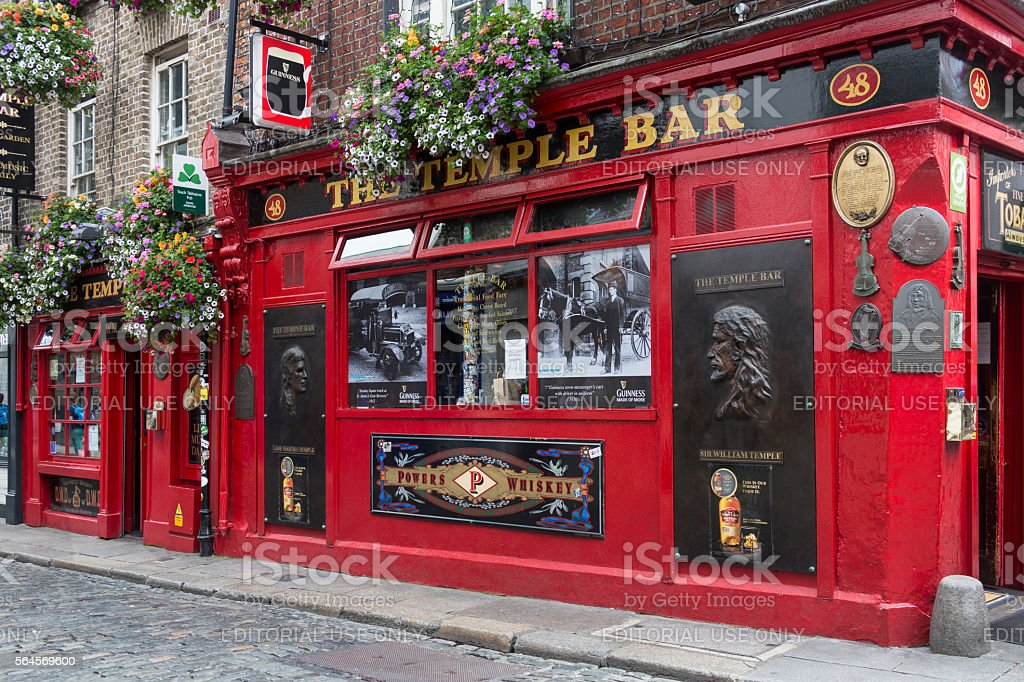 Temple Bar - Dublin - Ireland stock photo