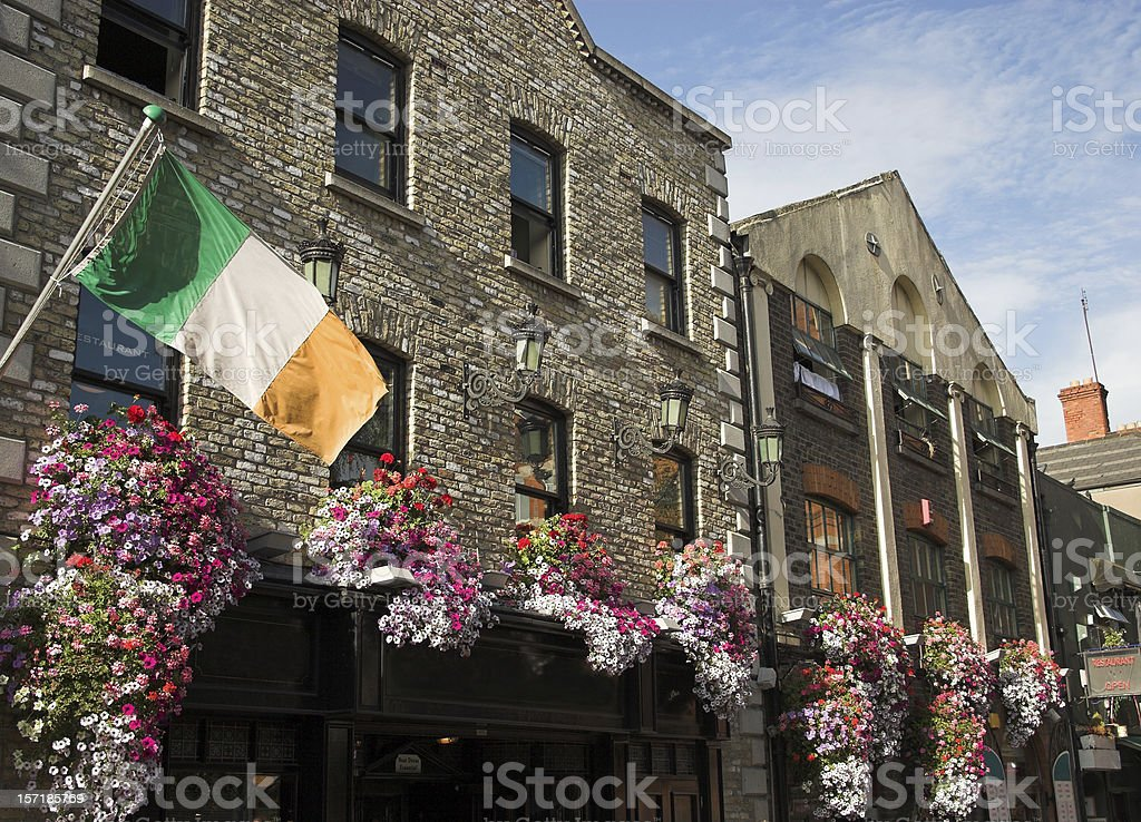 Temple bar pub Dublin stock photo