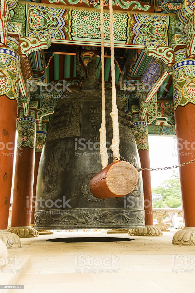 Temple Bell royalty-free stock photo