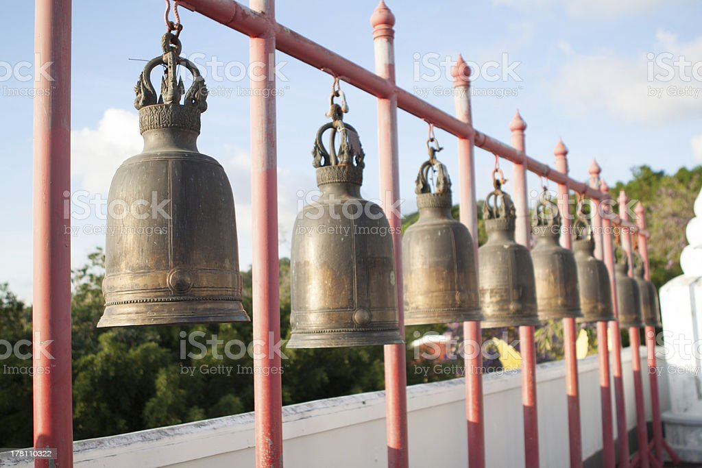 Temple Bells royalty-free stock photo