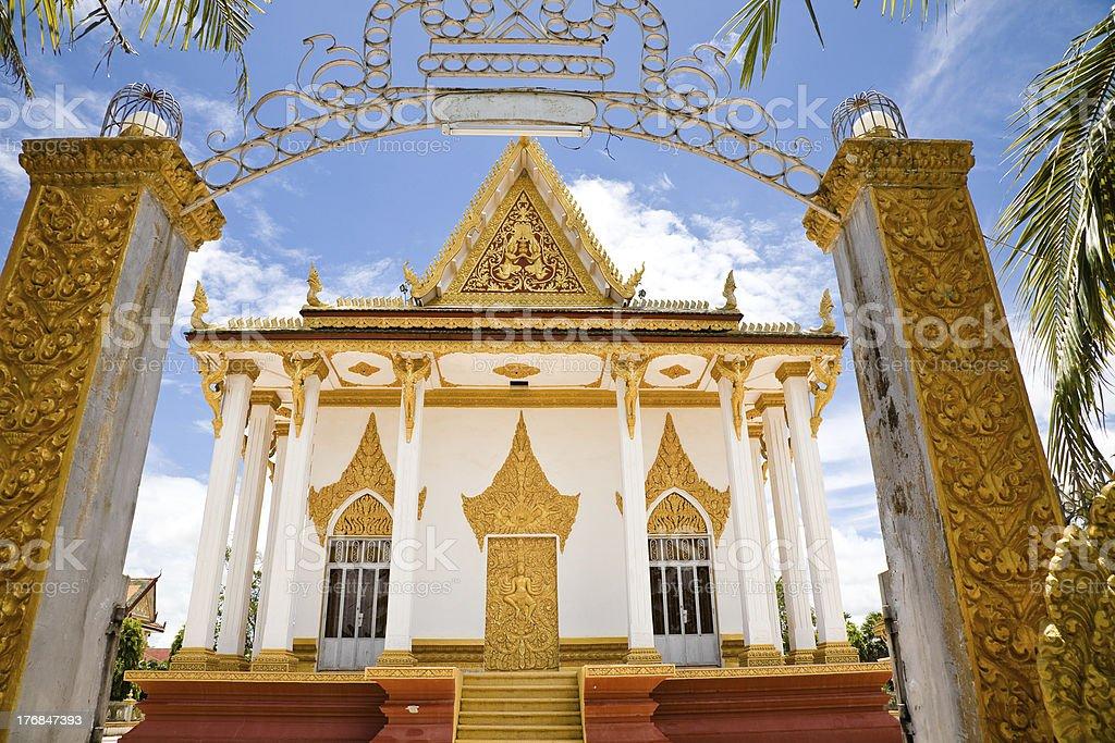 Temple, Cambodia stock photo