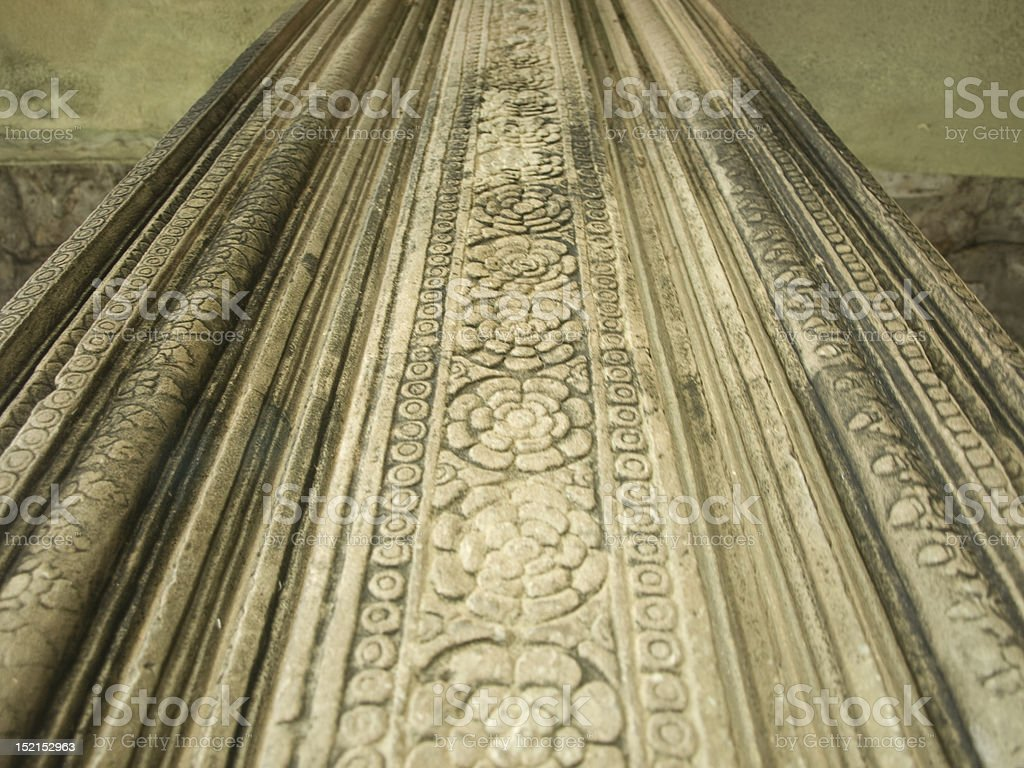 temple carving texture detail royalty-free stock photo