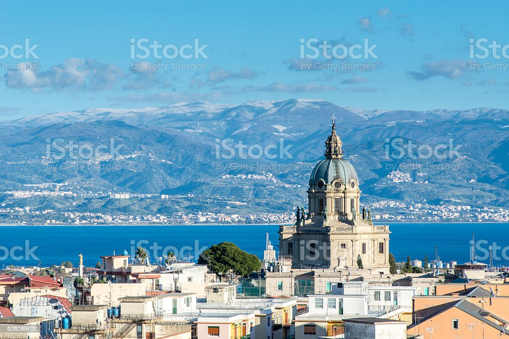 Temple Christ the King.  Sicily. Italy stock photo