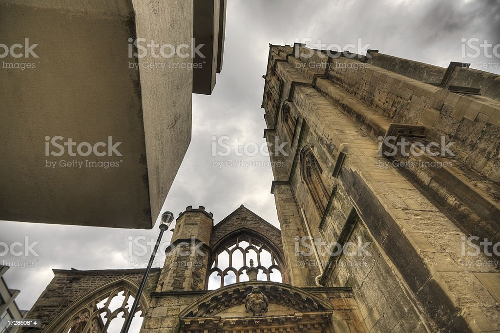 Temple Church, Bristol royalty-free stock photo