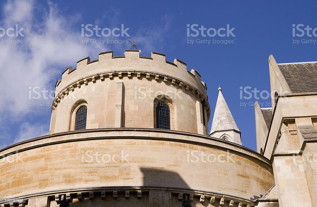 Temple Church royalty-free stock photo