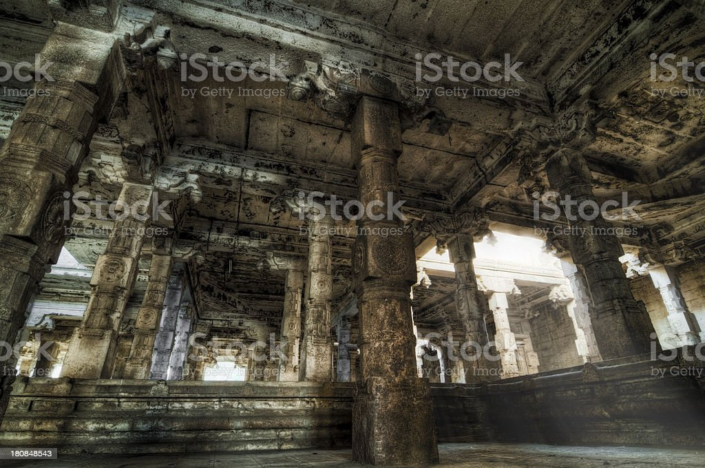 Temple Columns royalty-free stock photo
