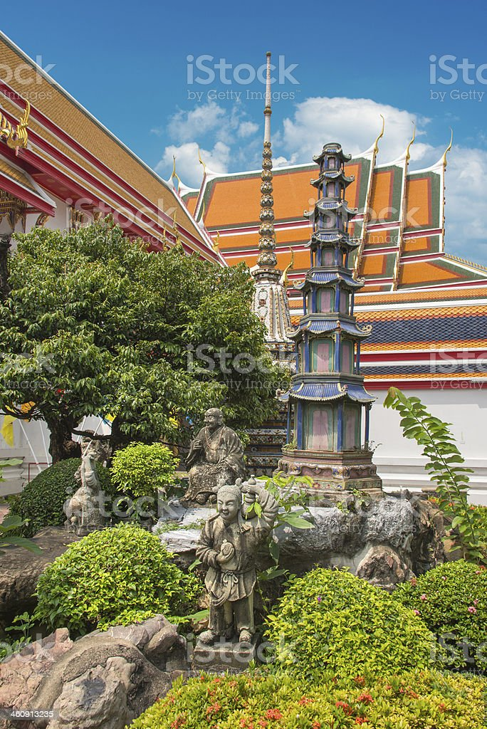 Temple Complex royalty-free stock photo