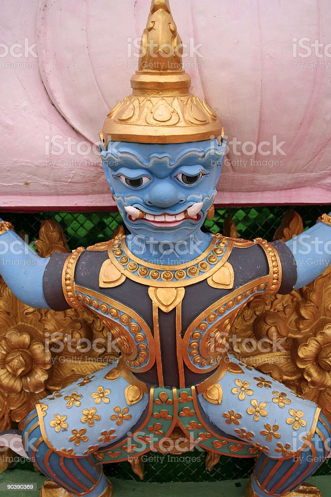 temple detail royalty-free stock photo