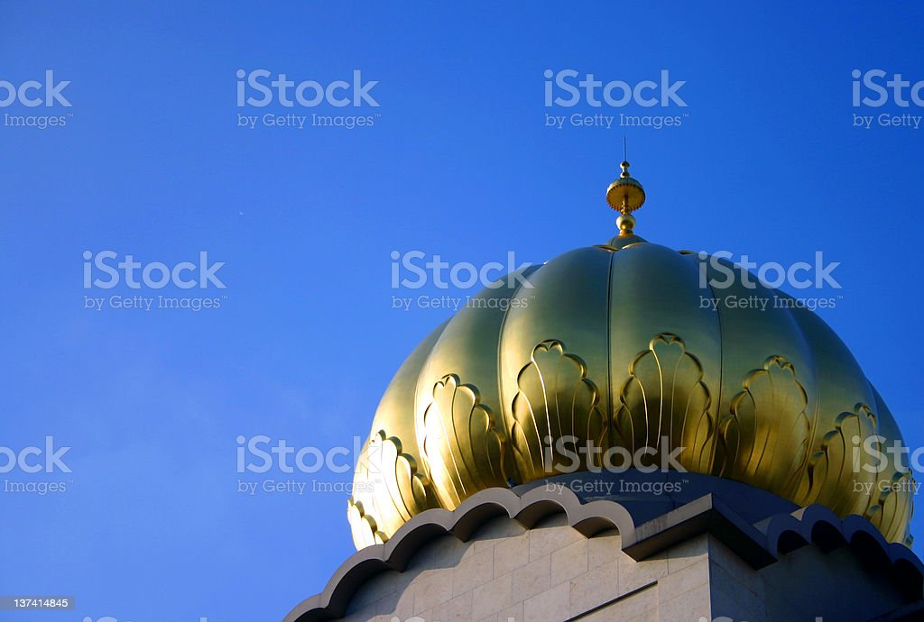 Temple Dome, blue sky royalty-free stock photo