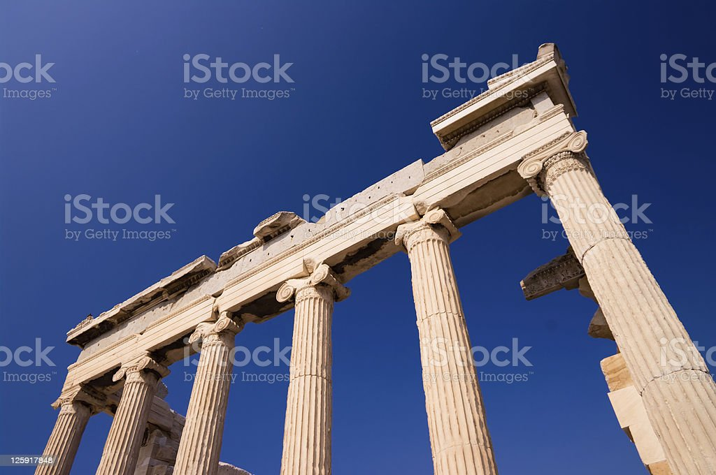 temple Erechtheum royalty-free stock photo