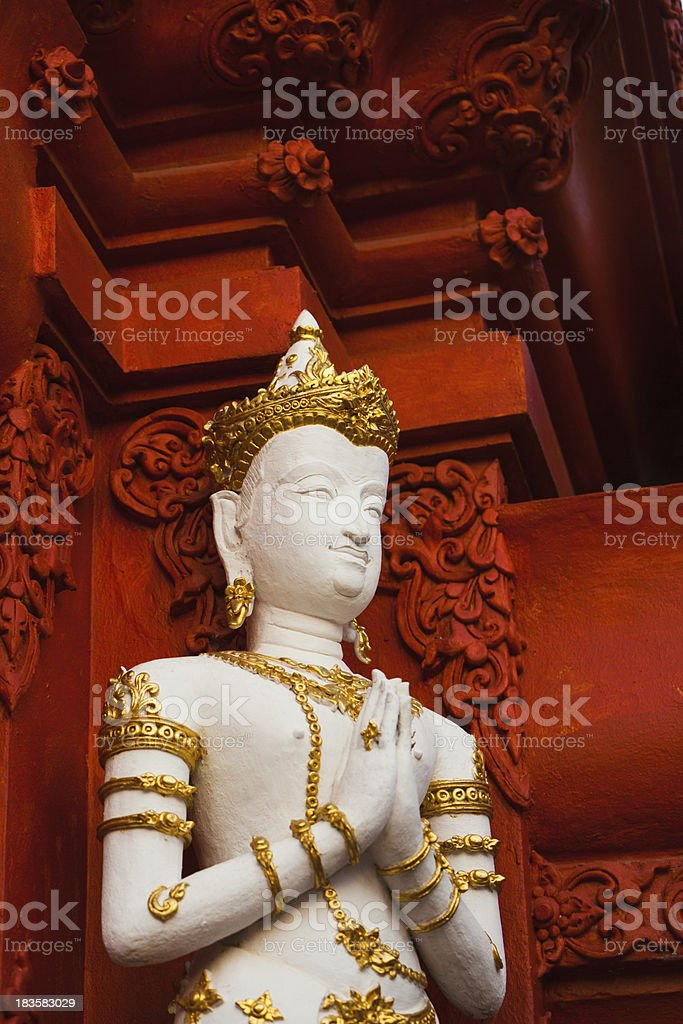 Temple Gate in Chiang Rai, Thailand royalty-free stock photo