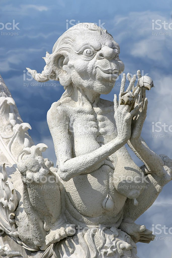 Temple Ghoul royalty-free stock photo