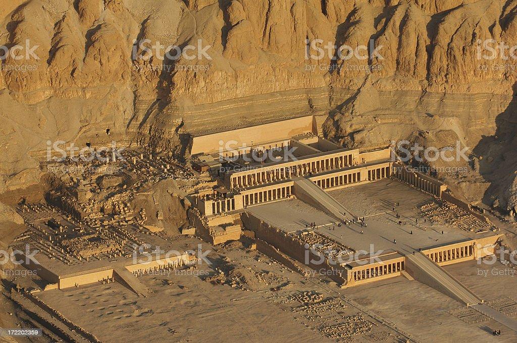 Temple Hatshepsut royalty-free stock photo