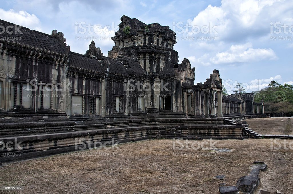 Świątynia w Angkor Wat, Kambodża zbiór zdjęć royalty-free