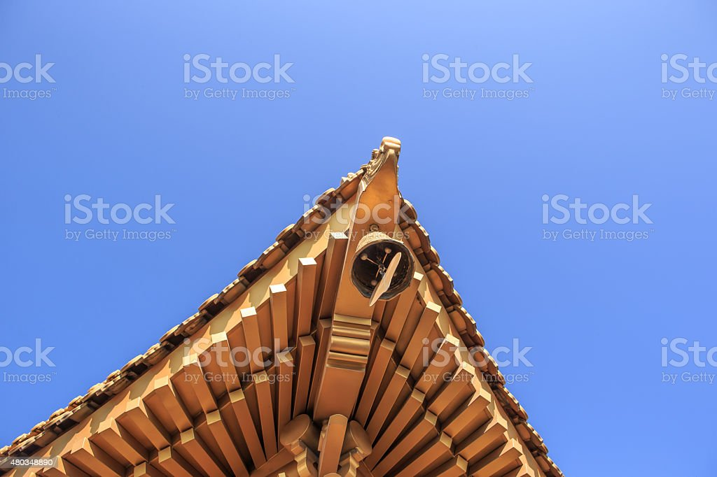 Temple in china stock photo
