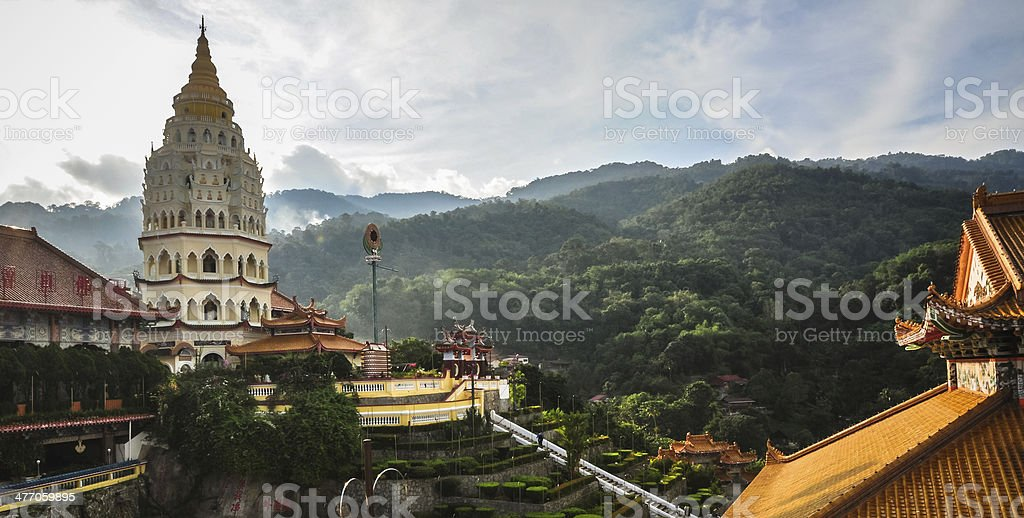 Temple in George Town, Penang, Malaysia stock photo
