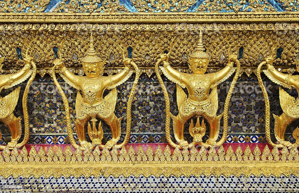 temple in grand palace bangkok thailand royalty-free stock photo