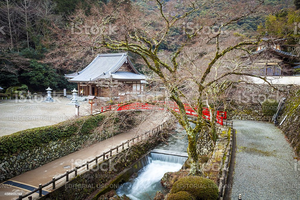 'Temple in Minoh district of Osaka, Japan' stock photo