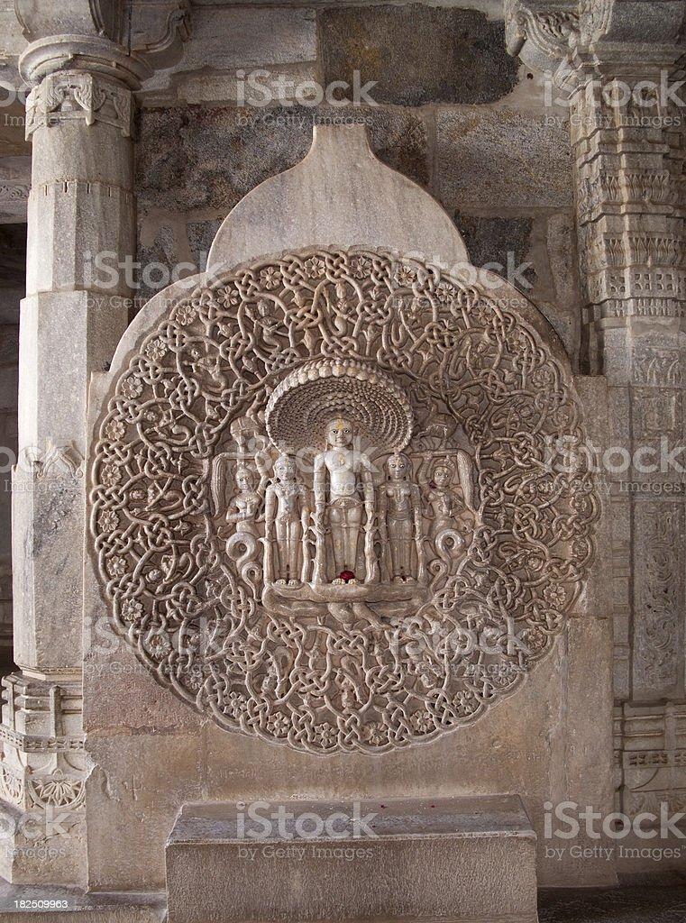 Temple In Ranakpur, India stock photo
