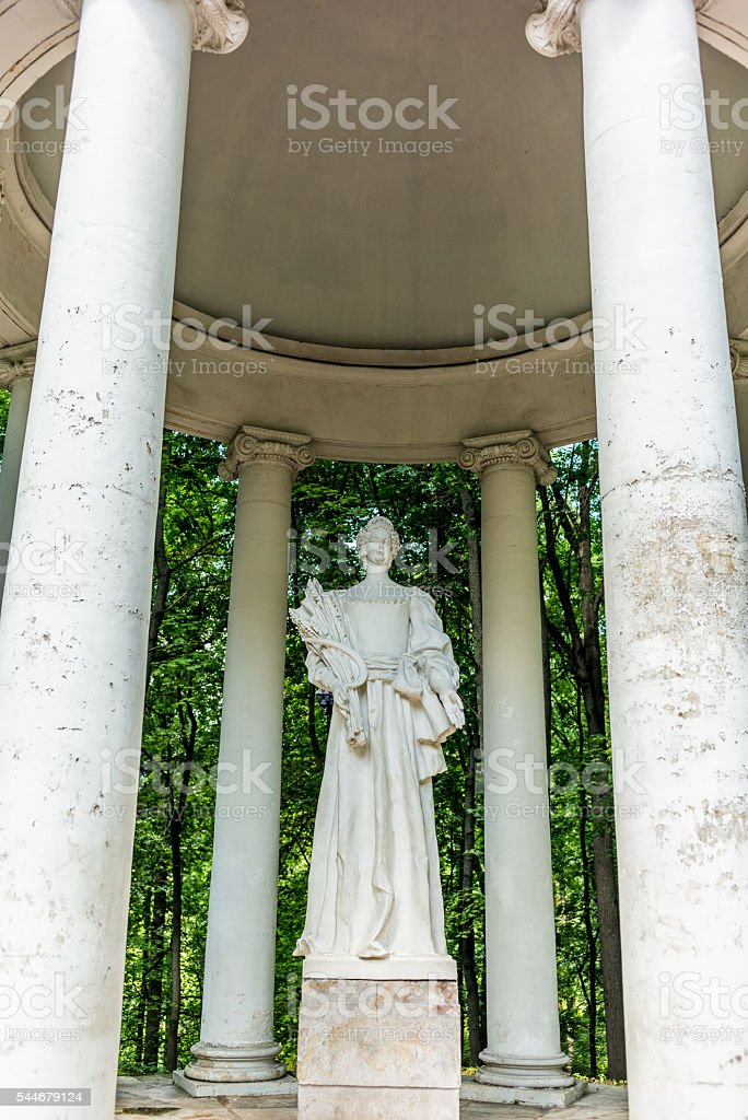Temple in the Tsaritsyno park in Moscow - 2 stock photo
