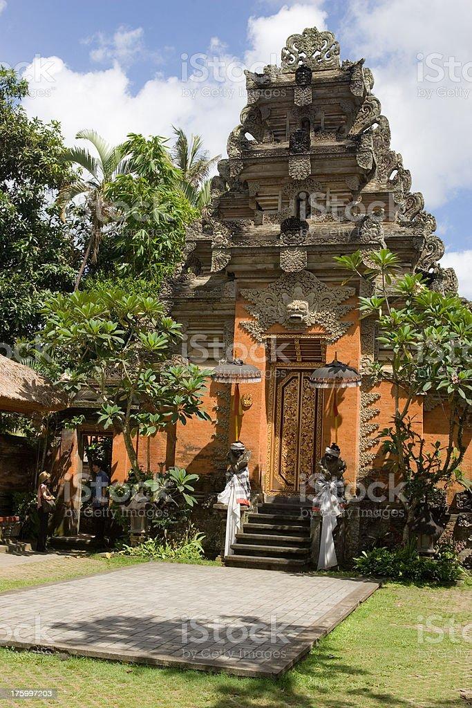 Temple Indonesia Ubud Bali royalty-free stock photo