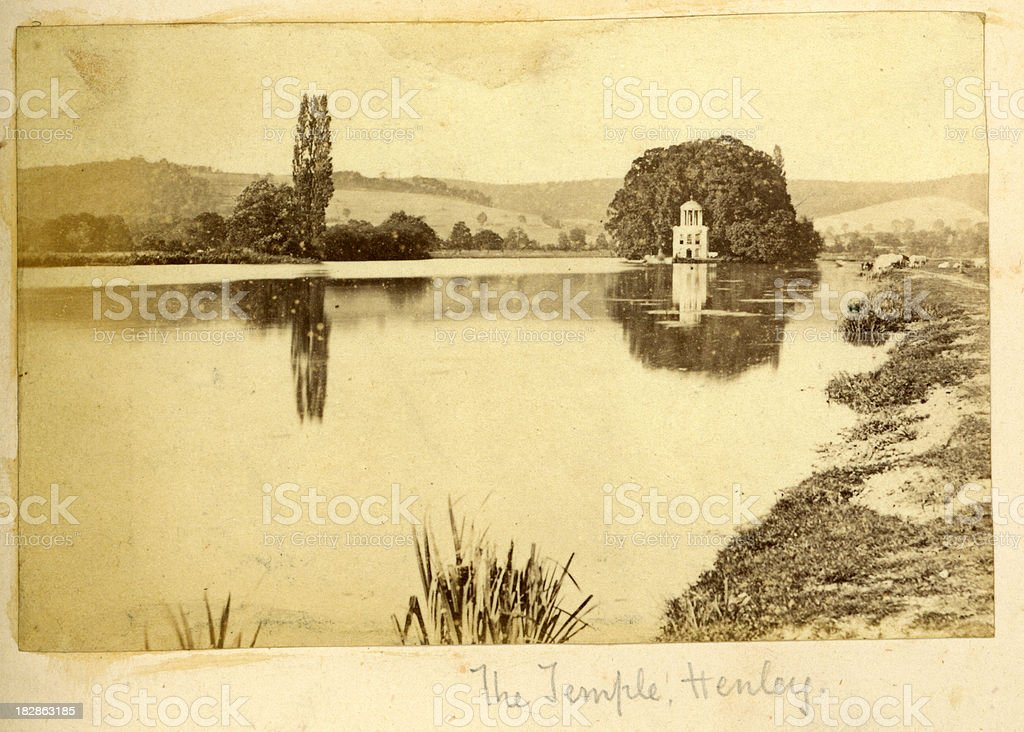 Temple Island Henley royalty-free stock photo