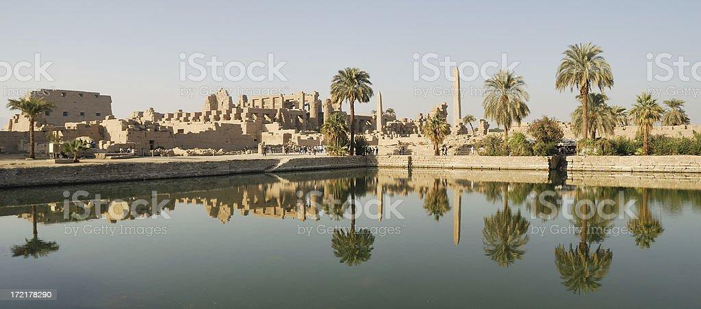 Temple Karnak 01 stock photo