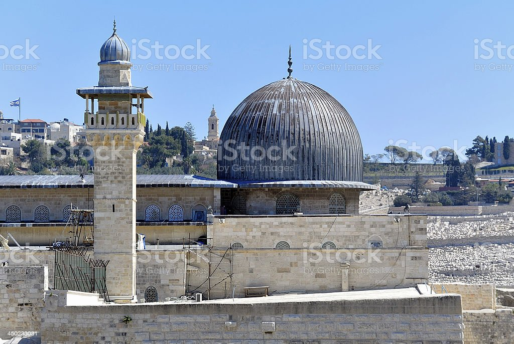 Temple Mount in Jerusalem. royalty-free stock photo
