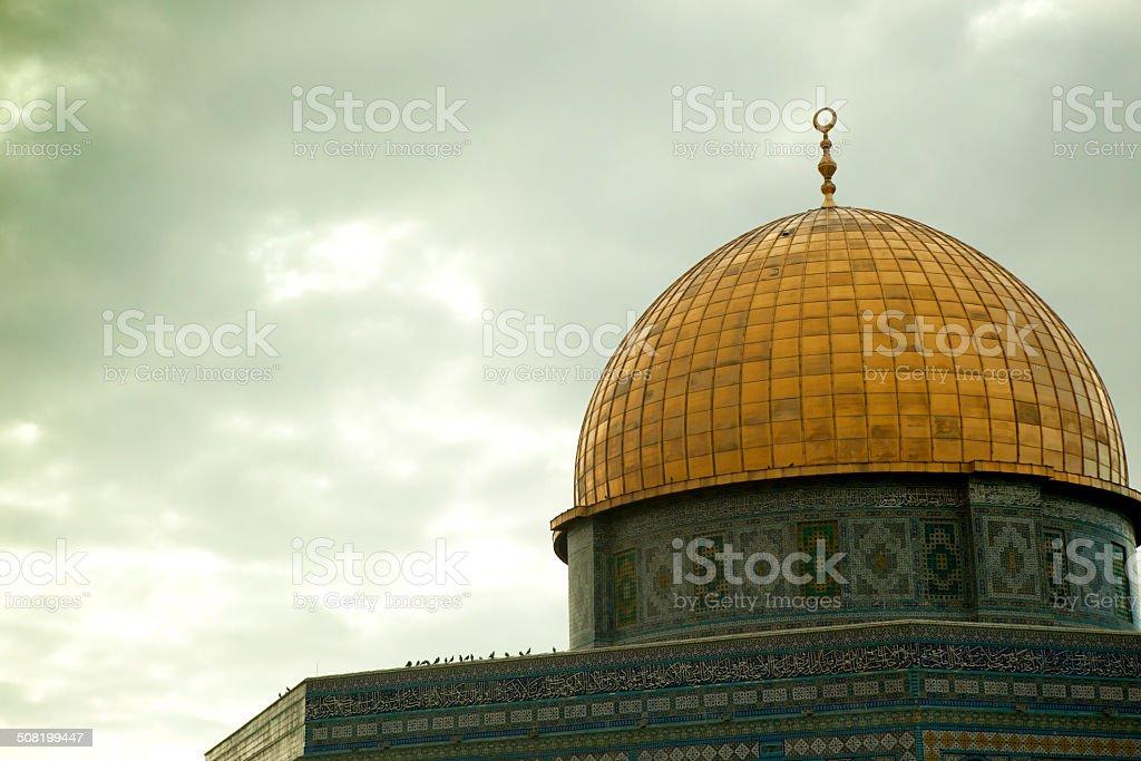 Monte del Templo en Jerusalén foto de stock libre de derechos