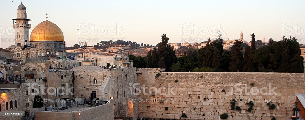 Temple Mount royalty-free stock photo