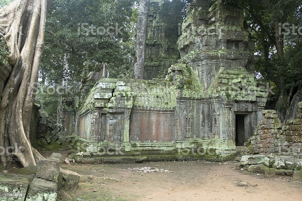 Temple Near Angkor Wat royalty-free stock photo