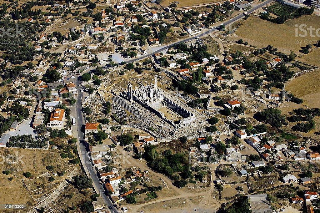 Temple of Apollo, Didyma, Turkey stock photo