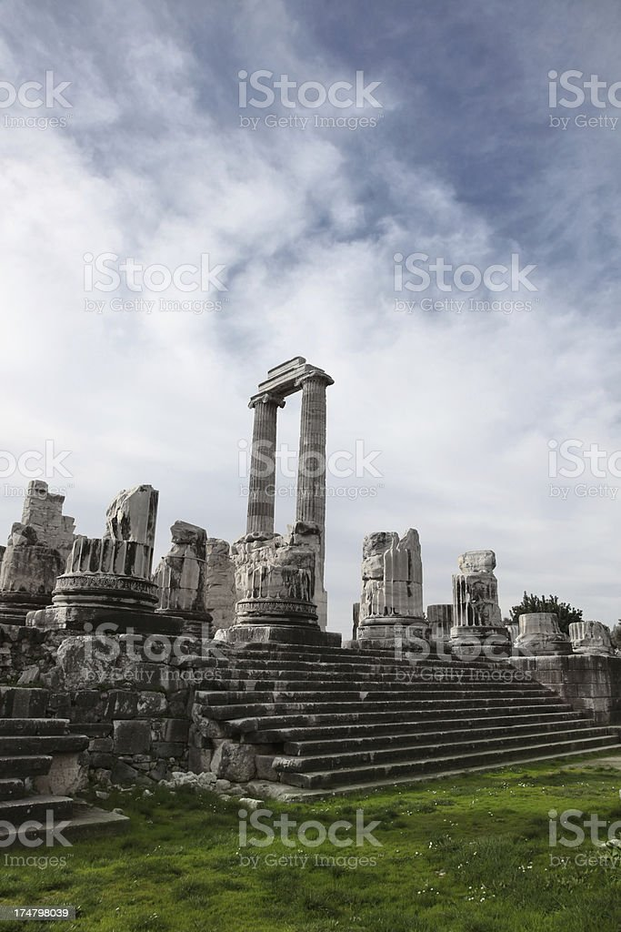 Temple of Apollo royalty-free stock photo
