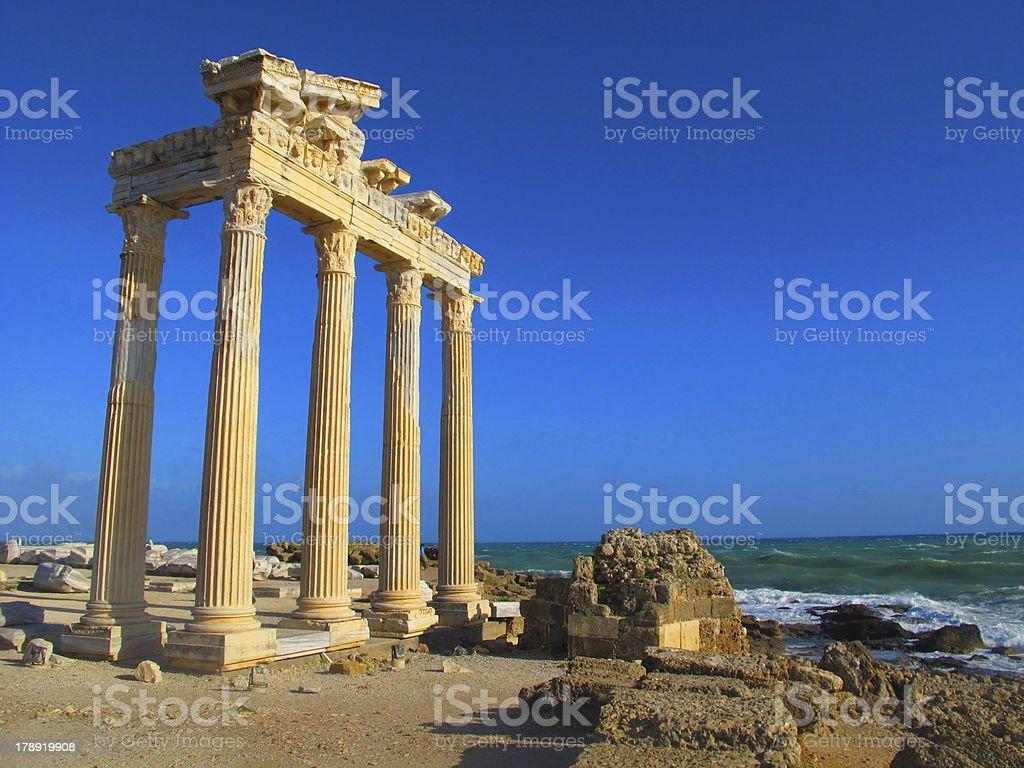Temple of Apollo royalty-free stock photo