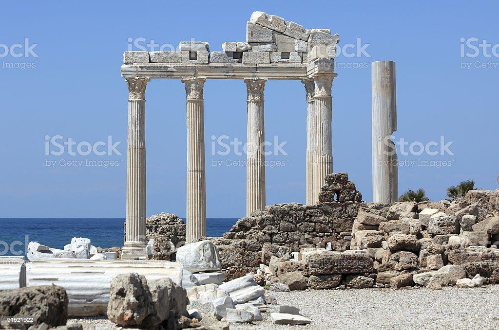 Храм-Apollo Стоковые фото Стоковая фотография