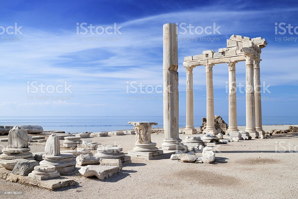 Temple of Apollo ancient ruins
