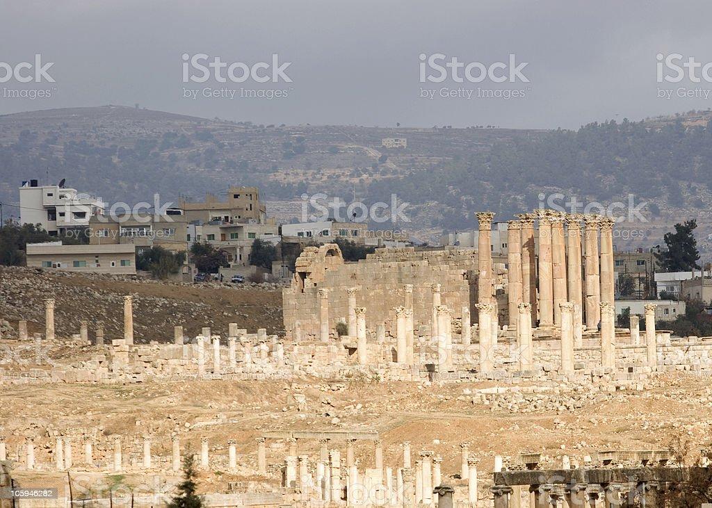 Temple of Artemis stock photo