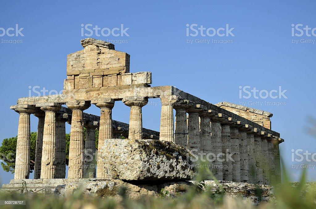tempio di Atena stock photo