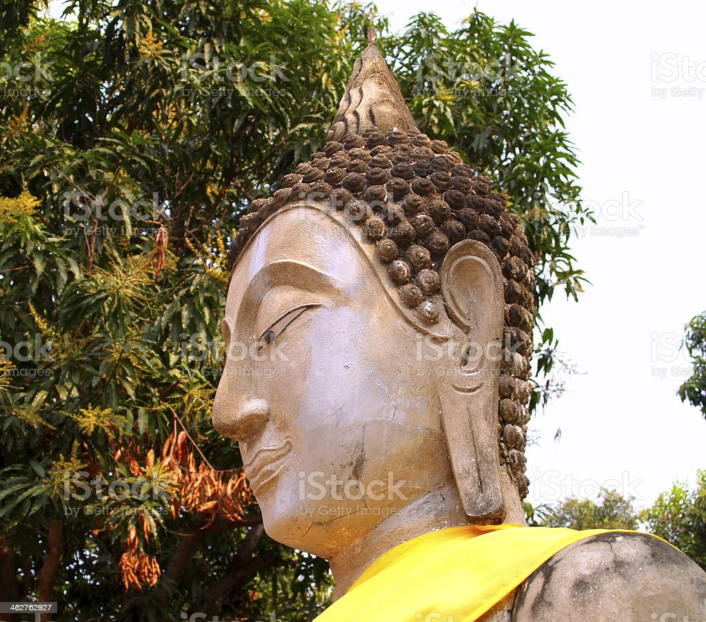 Temple of Ayuthaya, Thailand stock photo